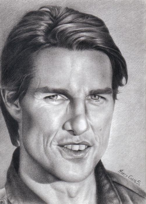 Tom Cruise by MarcoCostaS.